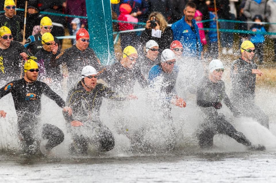 Sunnfjord Triatlon 2018, Naustdal